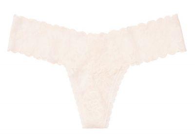 Tanga VS Floral Lace (Coconut White)