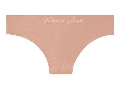 Kalhotky Tanga Victorias Secret Seamless (Nude)