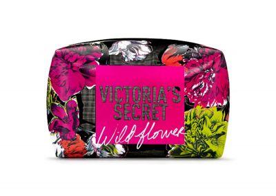 Victoria's Secret velká kosmetická taštička Mesh (Floral)