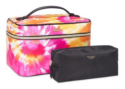 Victoria's Secret kosmetický kufřík + taštička (Tie Dye)