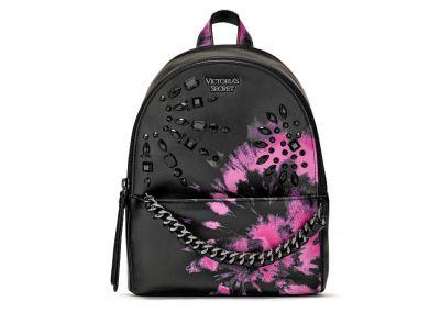 Victoria's Secret mini Backpack (Black/Pink)