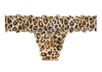Victoria's Secret Pink kalhotky Tang Allover Lace (Leopard)