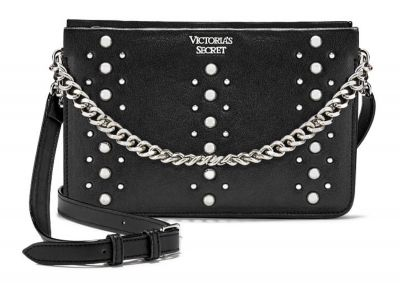 Crossbody kabelka Victorias Secret (Black/Silver)