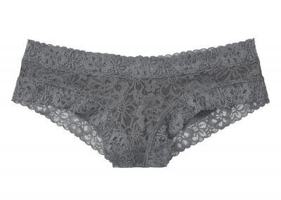 Kalhotky Brazilky Victorias Secret Lace (Grey)