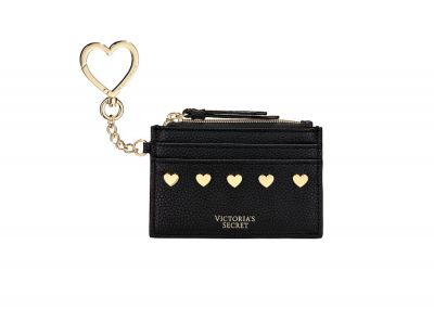Klíčenka Card Case Victorias Secret (Black Heart)