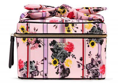 Kosmetický kufřík + taštička Victorias Secret (Pink Floral)