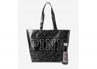 Láhev a taška Victorias Secret Pink (Black)
