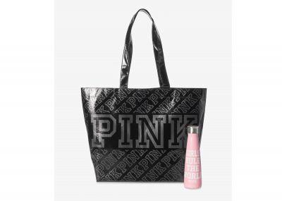 Láhev a taška Victorias Secret Pink (Pink)