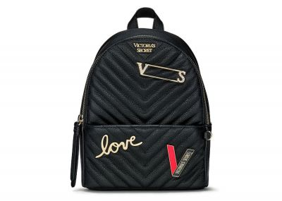 Victoria's Secret batůžek Mini Backpack (Black Logo)