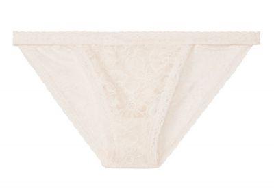 Kalhotky Bikini Victorias Secret Lace (Coconut White)
