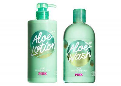 Sada péče o tělo Victorias Secret Pink (Aloe)