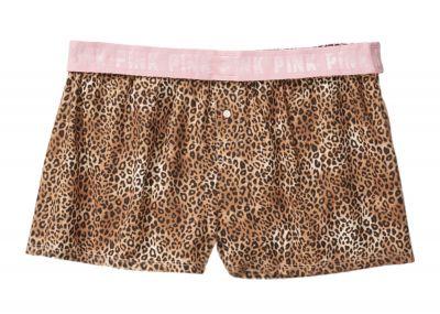 Šortky Victorias Secret Pink (Leopard)