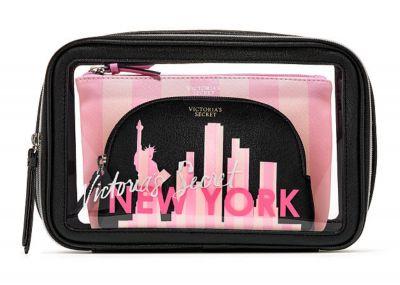 Victoria's Secret Trio kosmetických taštiček (New York)