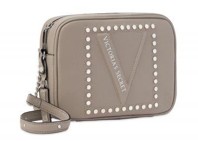 Crossbody kabelka Victorias Secret (Grey Stud)