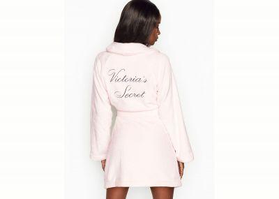 Luxusní župan Victorias Secret (Sheer Pink)