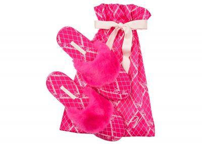 Pantofle Victorias Secret (Fuchsia Logo) | S, M, L