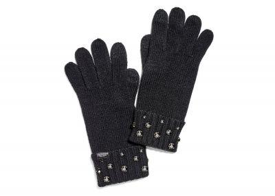 Pletené rukavice Victorias Secret (Black)