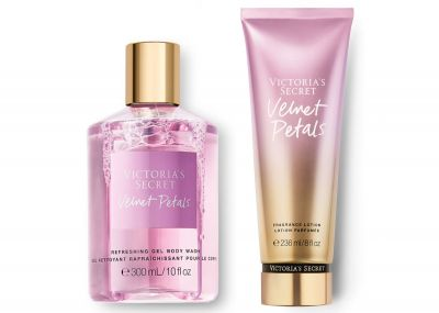 Victorias Secret Fragrance Lotion + Sprchový gel (Velvet Petals)