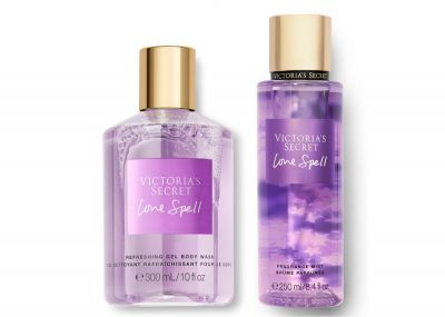 Victorias Secret Fragrance Mist + Sprchový gel (Love Spell)