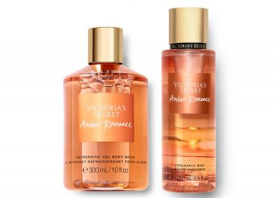 Victorias Secret Fragrance Mist + Sprchový gel (Amber Romance)